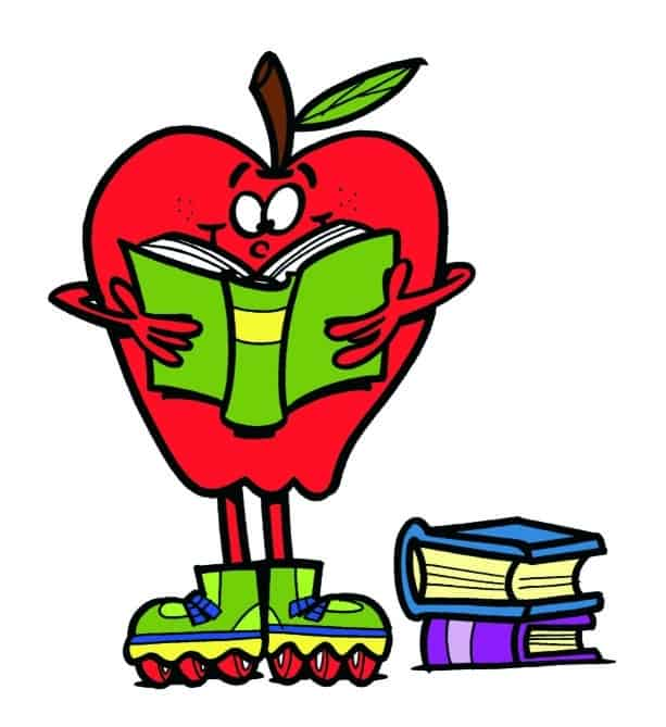 the-new-rink-school-events-apple-with-book-image