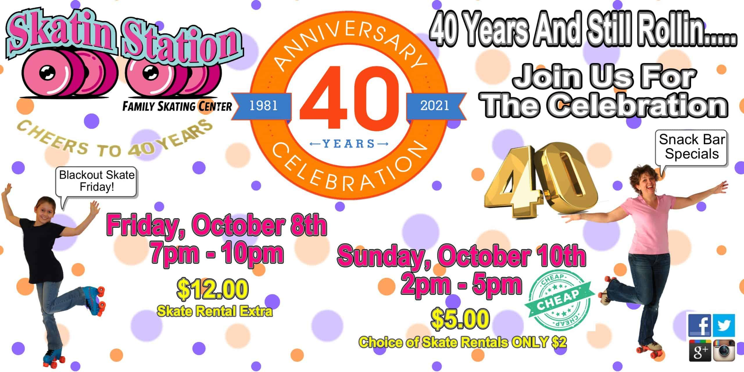 SS 40th Anniversary